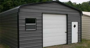 18u0027 x 26u0027 x 9u0027 standard eco-friendly steel carport garage - installation SNHYCWZ