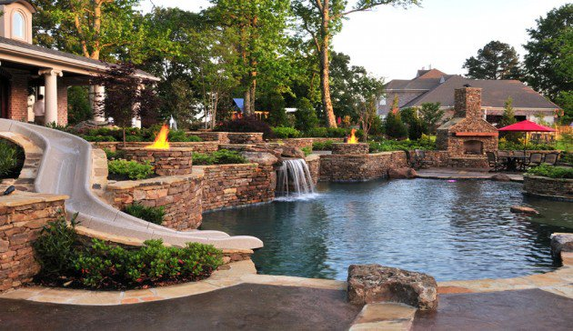 22 outstanding traditional swimming pool designs for any backyard JSWKEMS