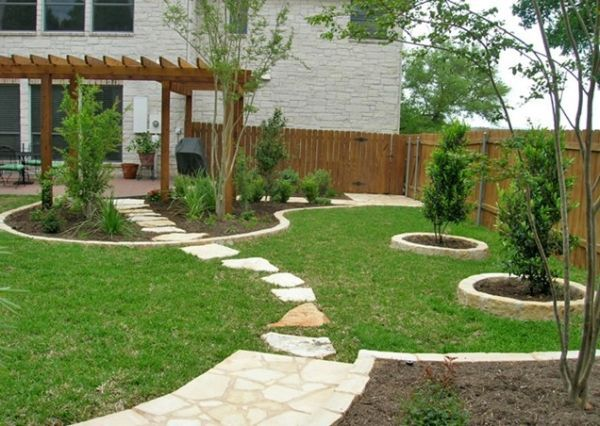 25 inspirational backyard landscaping ideas MRQFNUS