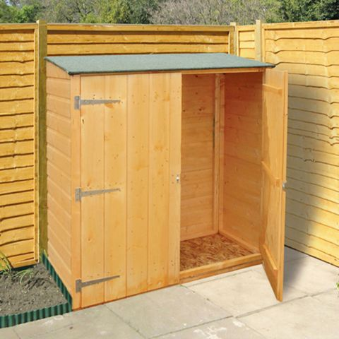 4 x 2 shire wooden garden storage unit BHJUMDP