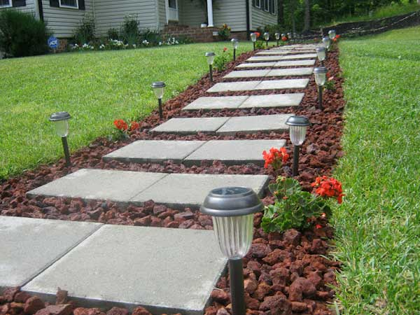 41 ingenious and beautiful diy garden path ideas to realize in your CTUASYM