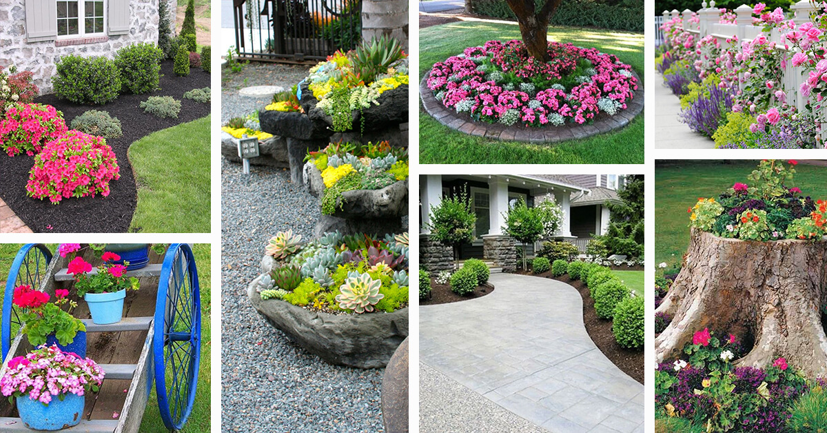 50 best front yard landscaping ideas and garden designs for 2018 DKSNVXZ