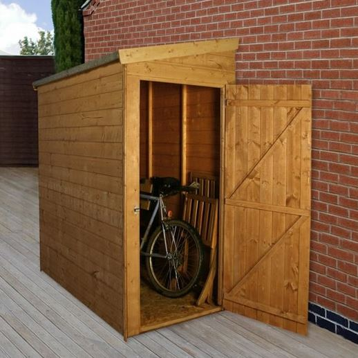 6 x 3 waltons tongue and groove pent garden storage unit IZRQJXH