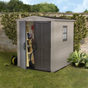 6 x 6 storage shed - quality plastic