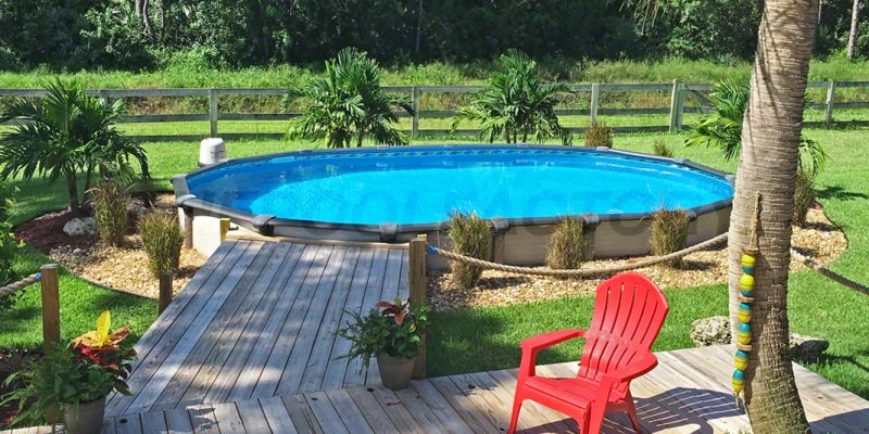 above ground pool deck ideas above ground pools #561 · customer spotlight: lisa m. #01 ... TNBLADC