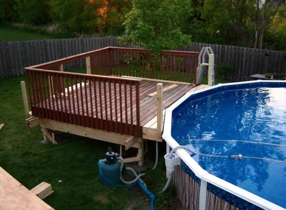 above ground pool deck ideas swimming pool deck design simple above ground pool deck plans above ground RAITFUJ