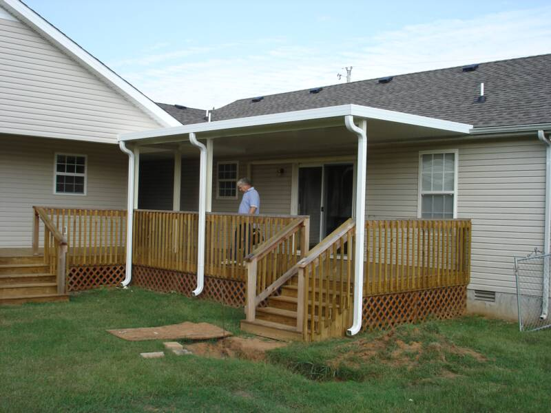 aluminum patio / deck covers-free estimates GNHFIXQ