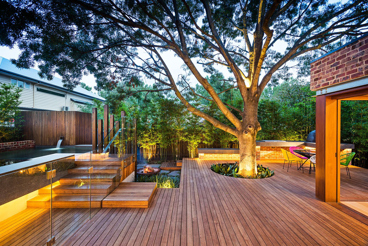 backyard design ideas collect this idea naroon modern backyard project by signature landscapes,  cos ZECAYDK
