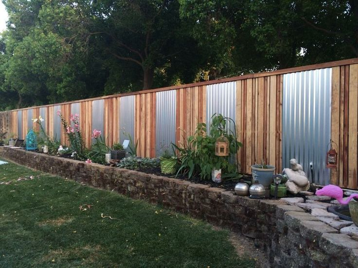 backyard fence ideas simple privacy fence ideas 15 privacy fences that will turn your yard EIEVPHD