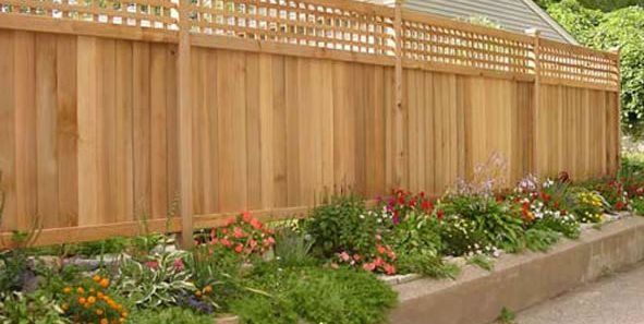 backyard fence ideas wood fence, privacy fence gates and fencing the fence, deck u0026 patio MOQJLZW