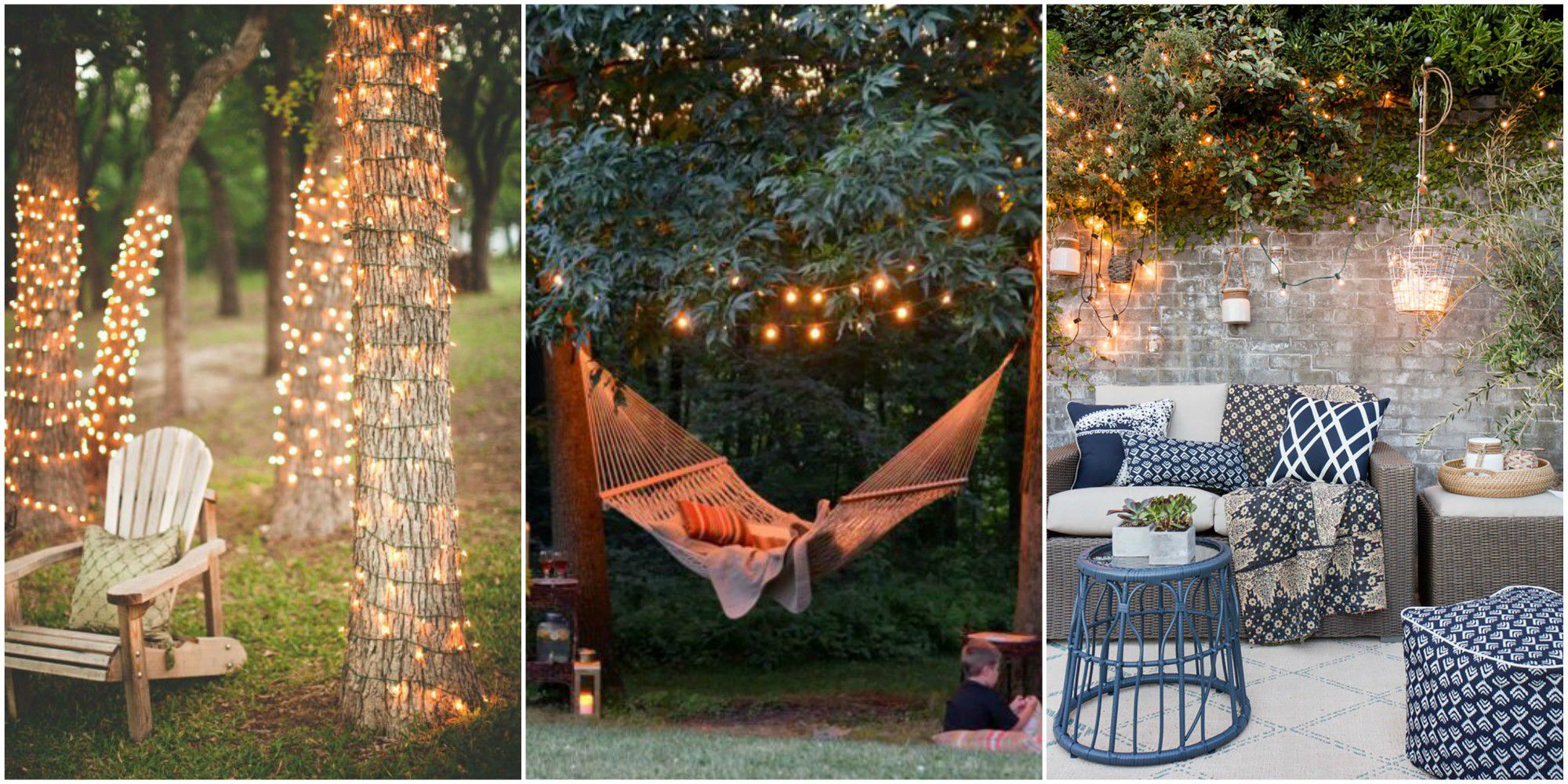 backyard lights outdoor string lights CRIDAYX