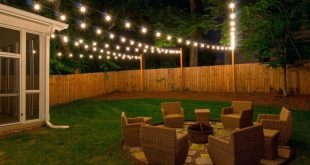 backyard lights porch string lights colored deck backyard home depot DONHUWO
