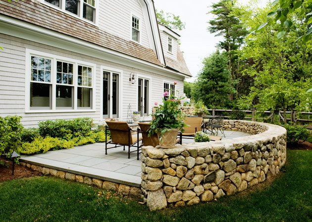 backyard patios stone patio wall, luxury backyard patio patio yard boss landscape design HSLWEDA