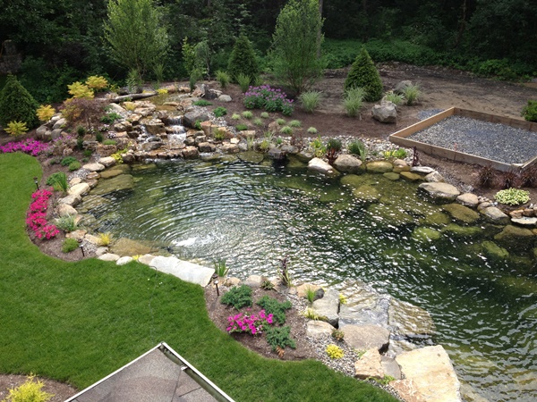 backyard pond planning is absolutely essential if you