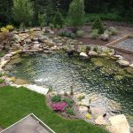 backyard ponds backyard pond planning is absolutely essential