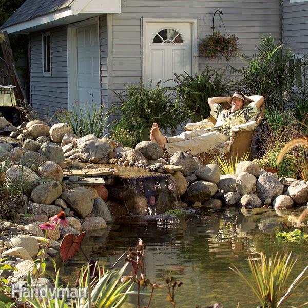 backyard ponds how to build a pond how to make a pond IFZYOUA