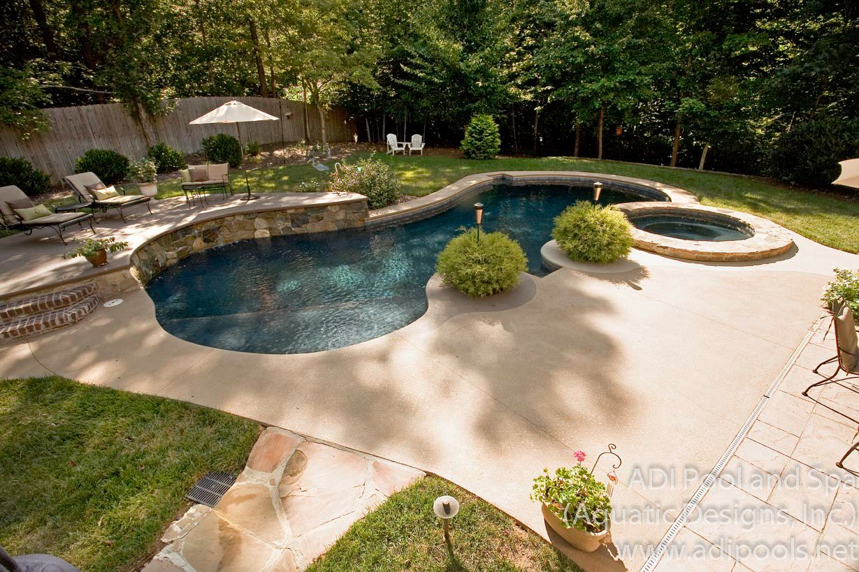 backyard pool landscaping ideas CROTODC