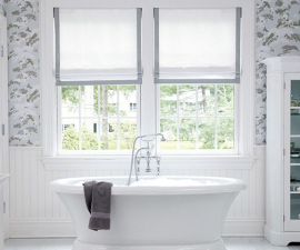 bathroom window treatments 9 bathroom window treatment ideas WGQYHIY