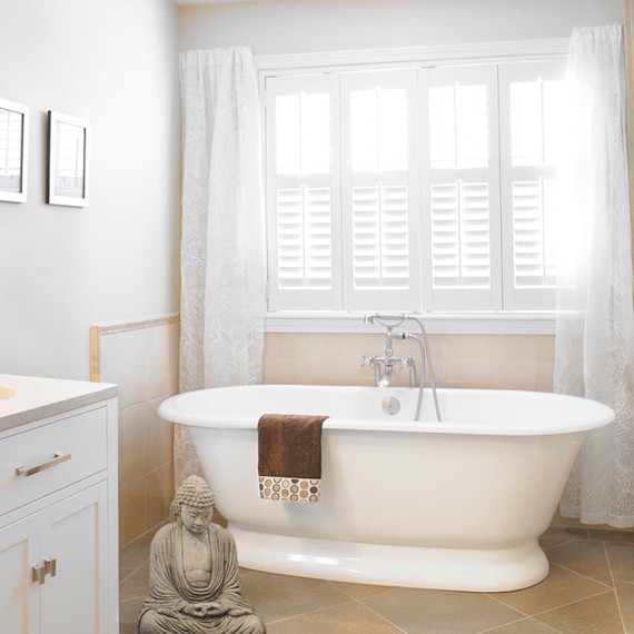 bathroom window treatments double up: QCTQFCE