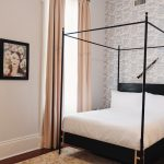 black canopy bed french-canopy-bed-josephine WAFQPOP