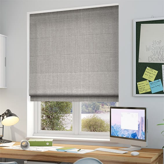 blackout roman blinds cavendish grey wash roman blind WNRLLUJ