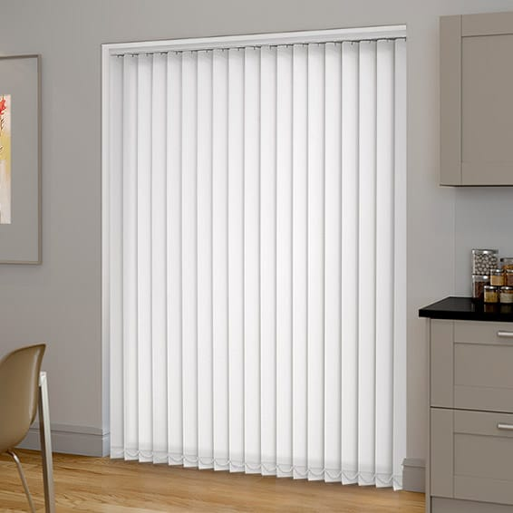 blackout vertical blinds sevilla tranquility white vertical blind YZTWTBH