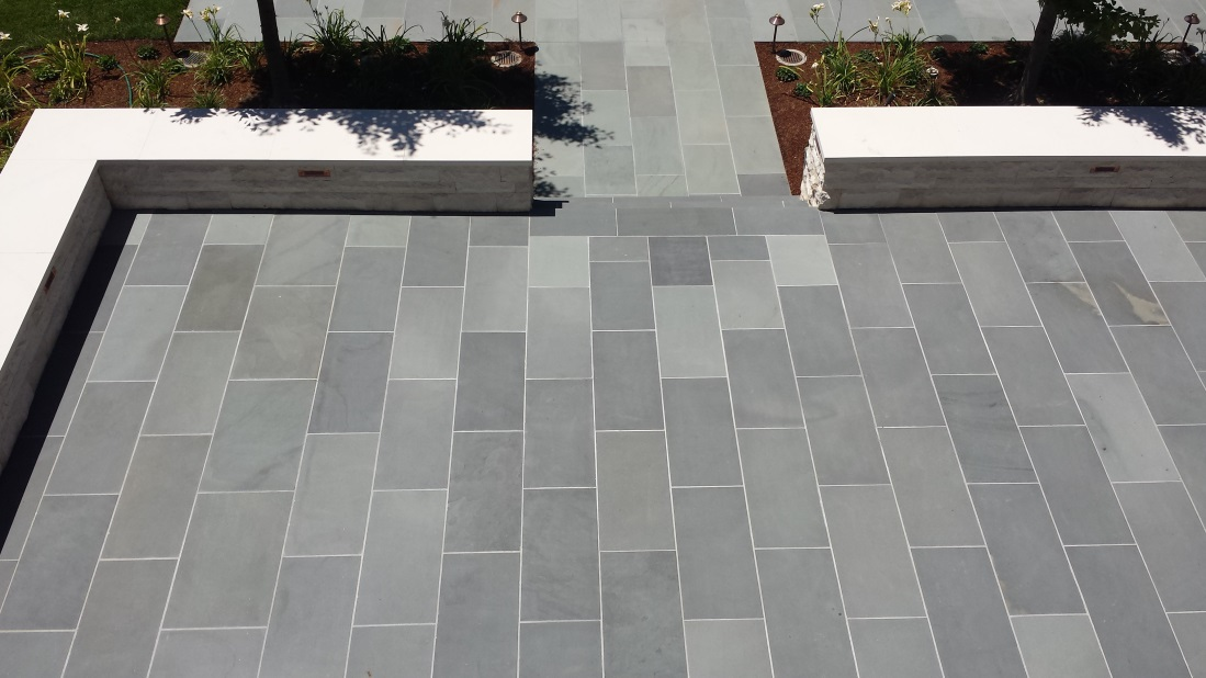 blue stone pavers select blue thermal finish bluestone paving XHXZDJK
