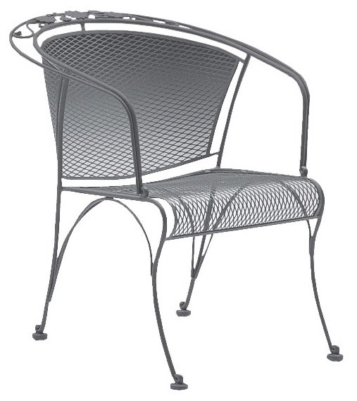 briarwood coil spring patio chair JSTRSYZ