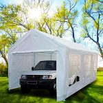 car shelters peaktop 20u0027x10u0027 heavy duty portable carport