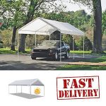 carport canopy image is loading caravan-canopy-carport-10x20-039-water-resistant-portable- HYGILYZ