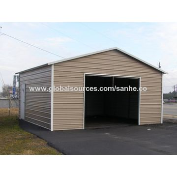 carport garage ... china steel square tube frame metal flat roof portable metal carport WCIBGBI