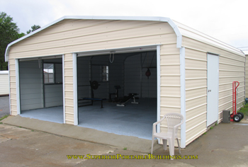 carport-garages finished carport garage ISIOVZK