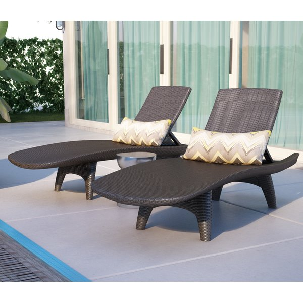 chaise lounge outdoor wade logan clarita reclining chaise