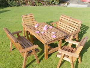 childrens garden furniture image is loading wooden-childrens-patio-set-outdoor-garden-furniture OWHHKJE