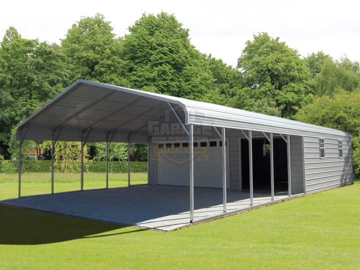 combo carport garage attached QMCUDCO