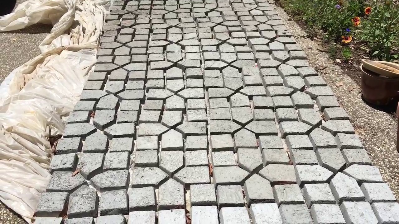 concrete pavers making your own pavers from a