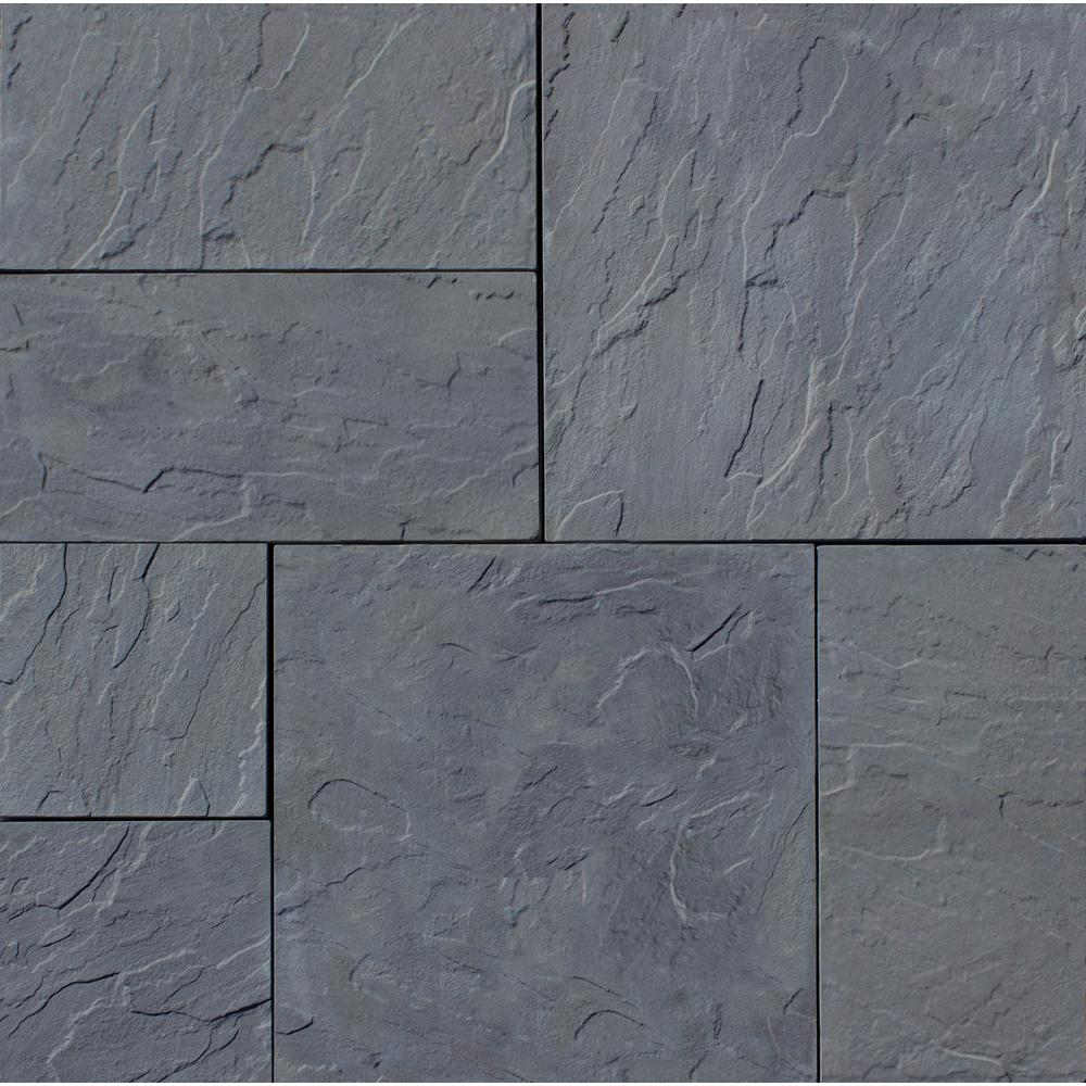 concrete pavers nantucket pavers patio-on-a-pallet 126 in. x
