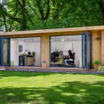 contemporary garden rooms contemporary large garden office ILSFNJC