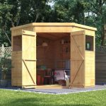 corner sheds billyoh expert tongue and groove corner