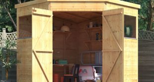 corner sheds billyoh expert tongue and groove corner workshop shed - garden sheds - MSRUOEP