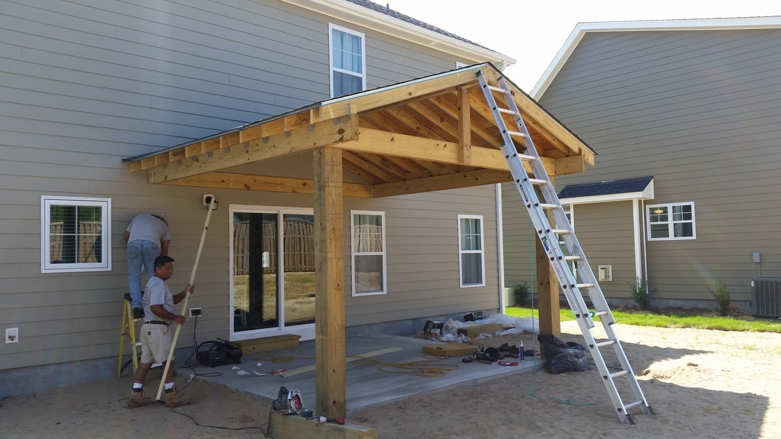 covered patio construction wilmingston HLJGAFF