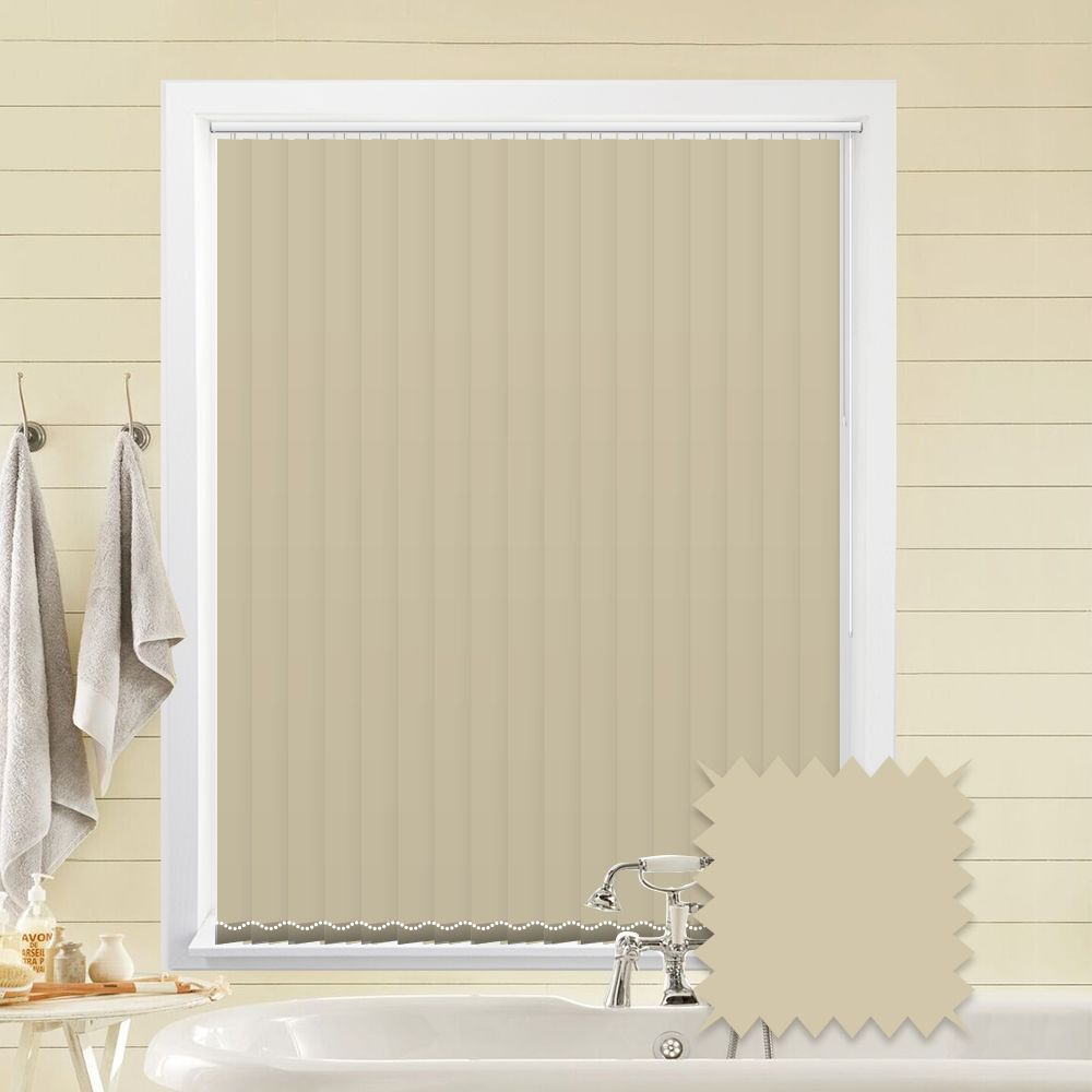cream vertical blinds | bermuda plain cream blackout vertical blinds - just MRBFCNZ