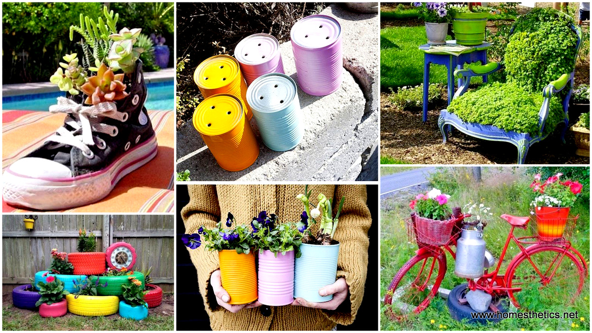 creative garden ideas 24 insanely creative diy garden container projects that will beautify your TCRBQSC