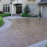 custom concrete driveways photo GCFEHKH
