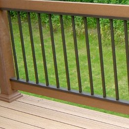 Use Deck Balusters that fit your Decking well