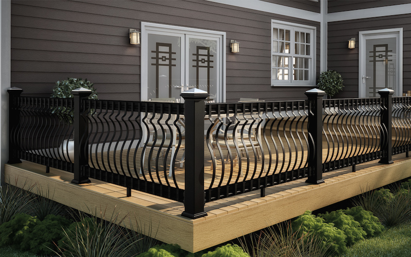 deck balusters baroque balusters installed ZAYZUCD