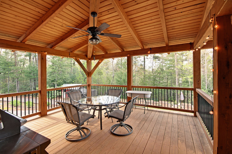 deck covering 10 reasons to cover your timber frame deck UUMOJHF