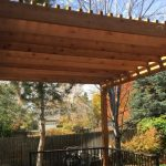 deck covers custom brown pergola cover a deck