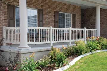 deck spindles baluster spindles for deck and railing tan colonial deck baluster and MKADDNF