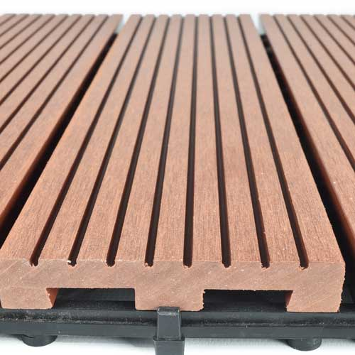 deck tiles - outdoor wood plastic decking tile IFWZESX